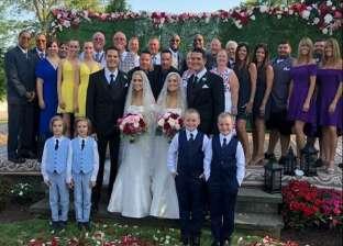 حقيقي ولا فوتوشوب.. صورة حفل زفاف للتوائم تثير جدلا على السوشيال ميديا