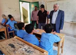 """مدير """"تعليم عام شمال سيناء"""" يتفقد إدارة الشيخ زويد التعليمية"""