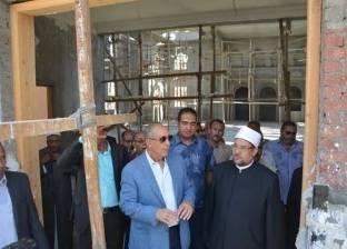 جمعة يتفقد مسجد الرحمن الرحيم بالغردقة ويؤكد: سيصبح مقصدا سياحيا