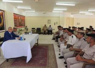 مدير أمن المنيا يشهد ختام الدورة الـ71 لتنمية مهارات رجال الشرطة
