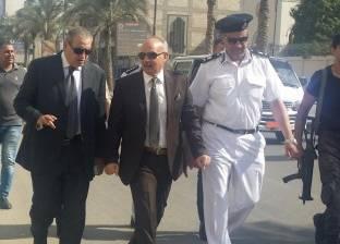 مساعد وزير الداخلية لمنطقة القناة يتفقد المنشآت الحيوية بالسويس