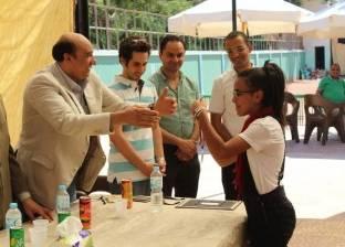 توزيع جوائز بطولة الجمهورية للتنس الأرضي بنادي المنيا الرياضي