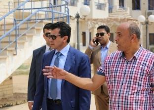 أشرف صبحي يتفقد المنشآت الشبابية والرياضة في شرم الشيخ