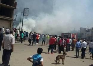 مصرع ربة منزل وإصابة 4 بينهم طفلان في حريق بالمساكن الشعبية بأسيوط