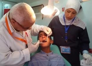 فحص 182 حالة مرضية متنوعة خلال قافلة طبية بوادي مندر في شرم الشيخ
