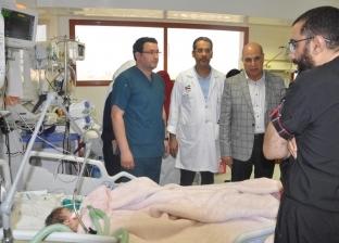 """""""نبضات"""" تجري 150 عملية قلب مفتوح وقسطرة للأطفال بـ""""مستشفى كفر الشيخ"""""""