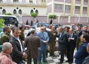 إقالة مدير إدارة الرخص في حي غرب المنصورة.. والتحقيق مع مدير الإشغالات