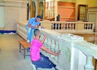 «المتحف المصرى» فى عيده الـ116: وداعاً للإهمال.. وإزالة الطلاء القديم بـ«مشارط طبية»