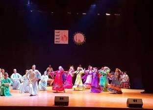 فرقة غزل المحلة للفنون الشعبية تحيي عروضا فنية بالمركز الثقافي بطنطا