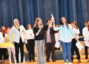 نادية مصطفى تختتم فعاليات ملتقى دمنهور الطلابي