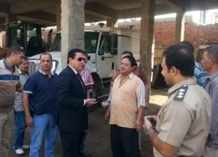 محافظ الشرقية يفاجئ الحملة الميكانيكية بزيارة في حي ثان الزقازيق