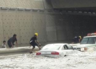 نشرة أخبار الطقس السيئ: غلق طرق.. وانهيار منزلين في البدرشين
