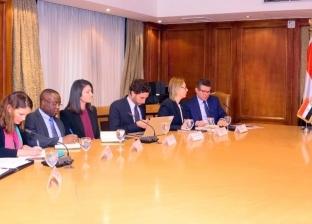 نصار يبحث مع وفد بنك التنمية الأفريقي دعم وتمويل رؤية مصر