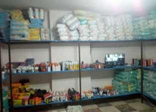 ضبط 506 عبوات أدوية مجهولة المصدر في حملة تموينية ببني سويف