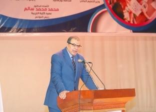 """""""سعفان"""" و""""أبو سليمان"""" يبحثان مشكلات العمالة المصرية واللبنانية"""