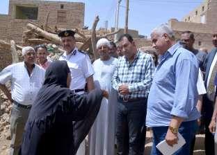 محافظ الأقصر يتابع عمل المصالح الحكومية والخدمية في قرى مركز إسنا