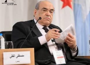 مصطفى الفقي يستقبل نائب رئيس المنظمة العالمية للملكية الفكرية