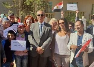 """الجالية الأجنبية تشارك في احتفالات العيد القومي لـ""""البحر الأحمر"""""""