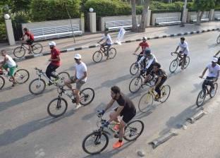 ماراثون دراجات للتوعية بأضرار المخدرات