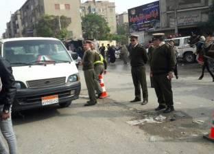 تكثيف الحملات المرورية وضبط 2705 مخالفة في المنيا