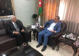 وزير الزراعة الأردني يستقبل نقيب الزراعيين لبحث التعاون المشترك