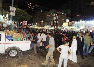 """التحفظ على 30 كرسيا و4 """"ترابيزات"""" في حملة إشغال الطريق في الإسكندرية"""