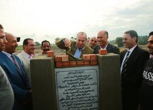 وضع حجر الأساس للوحة توزيع الكهرباء بأبوخشبة بكفرالشيخ بـ45 مليون جنيه