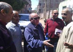 """رئيس """"السنطة"""" يوجه بتكثيف الحملات الرقابية على منافذ بيع السلع"""