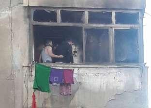 الحماية المدنية تسيطر على حريق في شقة بالفيوم