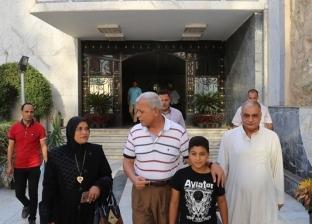 محافظ المنوفية يستقبل أسرة شهيد لتقديم التهنئة بتوليه المنصب