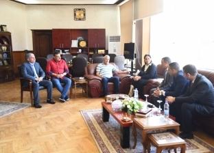 محافظ مطروح يلتقي وفد المجلس القومي لحقوق الإنسان