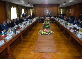 بالصور| وزير التعليم العالي يترأس المجلس الأعلى للجامعات بالمنوفية