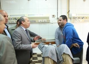 زيارة مفاجئة لمحافظ كفر الشيخ إلى المستشفى العام: الخدمات تشهد تطورا