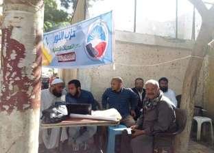 """حزب النور يقدم خدمات """"اعرف لجنتك"""" أمام اللجان الانتخابية بسوهاج"""