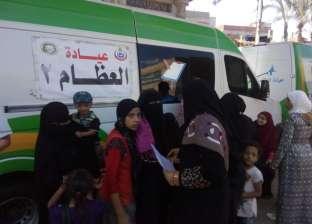 """""""صحة الدقهلية"""" تنظم قافلة طبية علاجية لمدة يومين بقرية الشبول"""
