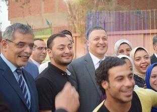 رئيس جامعة بنها يشارك طلاب المدن الجامعية والعاملين إفطار رمضان