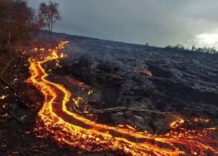 """""""بركان هاواي"""" يدخل مرحلة جديدة: انفجارات وانبعثات الغاز تتراجع"""