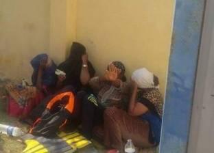 إحباط هجرة غير شرعية لـ 12 شخصا خلال تسللهم من السلوم إلى ليبيا