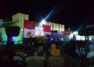 """زحام بمراكز شباب شمال سيناء لمؤازرة المنتخب الوطني في """"كان أفريقيا"""""""
