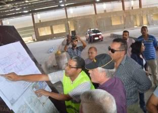 """وزير الطيران يتفقد أعمال مطار """"الطور"""" ويستعرض خطة تشغيله لنقل الركاب"""