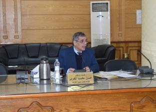 رئيس جامعة بنها يطالب بسرعة إعلان نتائج امتحانات نصف العام