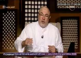 خالد الجندي: 20 دقيقة وقت كافي جدا لأداء خطبة الجمعة