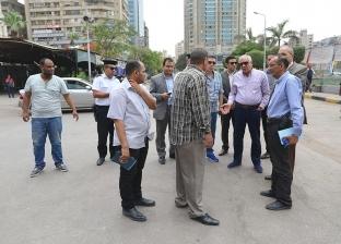 محافظ الجيزة يتفقد ساحات صلاة العيد بـ8 أحياء