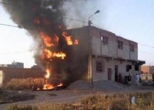 السيطرة على حريق في شقة بطنطا واختناق 3 مواطنين