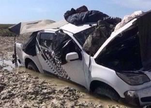 التماسيح تحاصر رجلين في مستنقع لمدة أربعة أيام.. شاهد ماذا حدث لهما