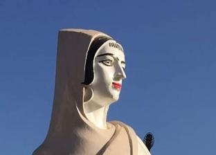 """إجراءات من """"التنمية المحلية"""" بشأن """"تشويه"""" تمثال الفلاحة المصرية"""