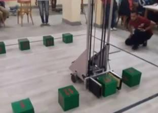 صنع فى بنها: روبوت لـ«الخدمة الشاقة»
