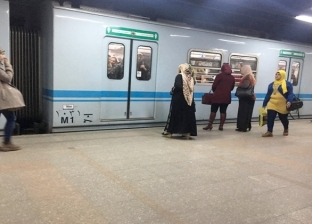"""""""مترو الأنفاق"""": انفجار بطارية هاتف راكب بأحد القطارات سبب تأخير الحركة"""