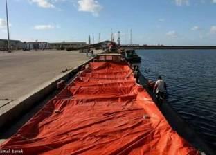 """""""صالح"""": مميزات جديدة للنقل النهري عبر ميناء دمياط"""