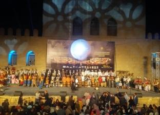 وزيرة الثقافة تفتتح الدورة السابعة للمهرجان الدولي للطبول في القلعة
